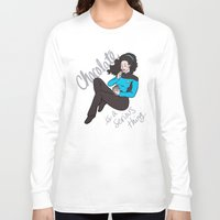 chocolate Long Sleeve T-shirts featuring Chocolate by Jamie Kinosian