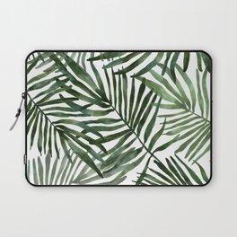 Watercolor simple leaves Laptop Sleeve
