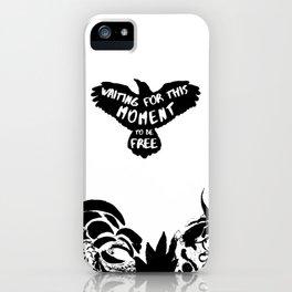 Black Bird iPhone Case