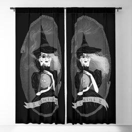 Gemini Witchy Zodiac Blackout Curtain