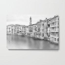 A view of Venice from Rialto Bridge Metal Print