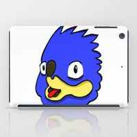 sonic iPad Cases featuring fake sonic by crapAdoodle