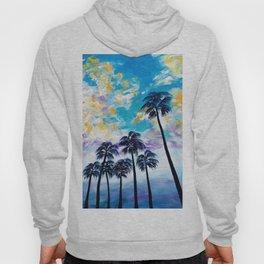 Oceanside Palm Trees Hoody