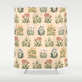 Wild Flowers ~ vol4. ~ light  Shower Curtain