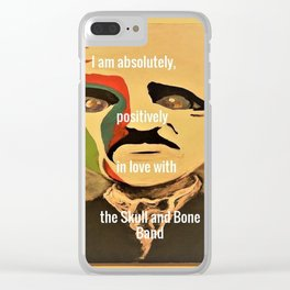 Poe, I am absolutely, positively, in love with the Skull and Bone Band Clear iPhone Case