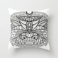 ornate Throw Pillows featuring Ornate by RifKhas
