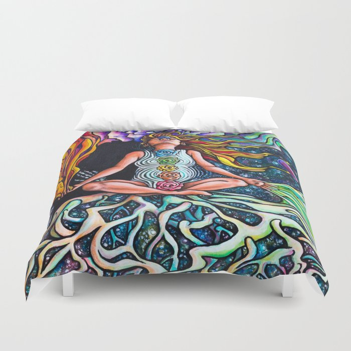 Goddess Rising Duvet Cover