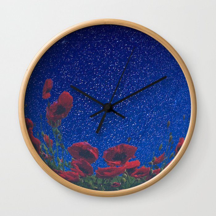 Fall In Love With The Night Wall Clock