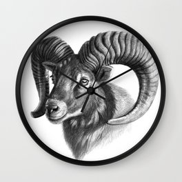 The mouflon G125 Wall Clock