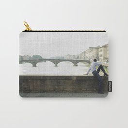 Man in the bridge Carry-All Pouch
