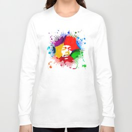 JIMI0402_water color Long Sleeve T-shirt