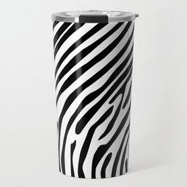 Skin of a zebra Travel Mug