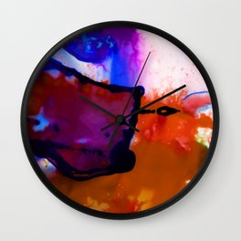 Abstract Bliss 4B by Kathy Morton Stanion Wall Clock