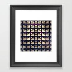 cat-562 Framed Art Print