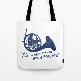 How I Met Your Mother - Blue French Horn Tote Bag