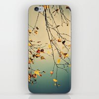 poem iPhone & iPod Skins featuring A poem from nature by Anne Staub
