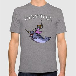 Battle Narwhal T-shirt