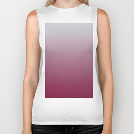 LAST HOURS - Minimal Plain Soft Mood Color Blend Prints Biker Tank