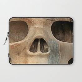 Picasso Stone Skull Laptop Sleeve