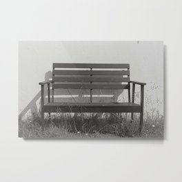 substitutes' bench  Metal Print