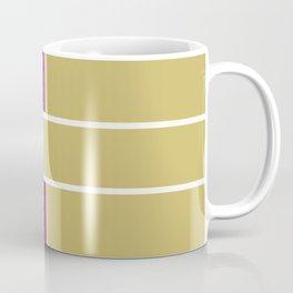 Team Color 6....Gold,purple Coffee Mug