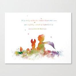 Little Prince Canvas Print