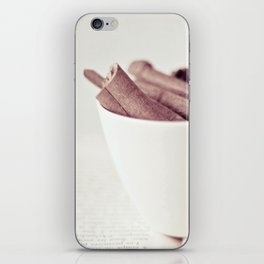 Cinnamon Cup iPhone Skin