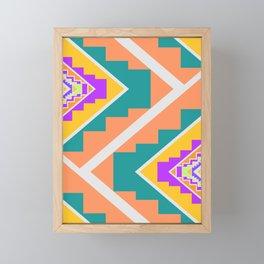 Native summer vibes Framed Mini Art Print