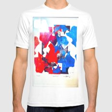 Texas Mens Fitted Tee SMALL White