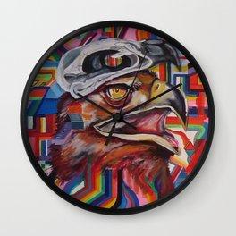 Masters Wearing Masters Wall Clock