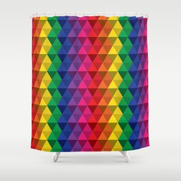 Color Me a Rainbow Shower Curtain