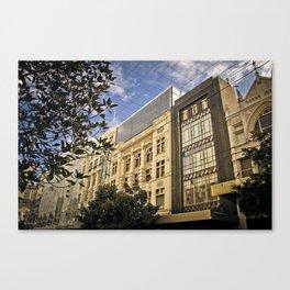 Melbourne - Bourke Street Canvas Print