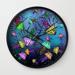 Stinging Party Wall Clock