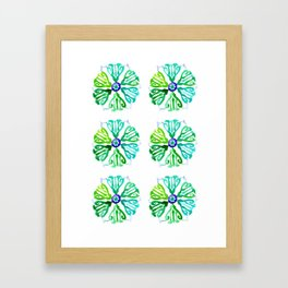 Ethnic style pattern Framed Art Print
