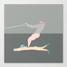 Pantless Project / ZAC & ZACH Canvas Print
