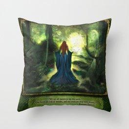 Heartwood Throw Pillow