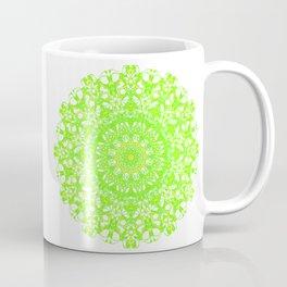 Mandala 12 / 5 eden spirit green Coffee Mug