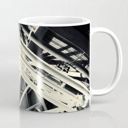 Spider Roof Struts Abstract Coffee Mug