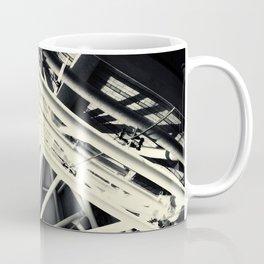 Spider Roof Struts Abstract Coffee Mug