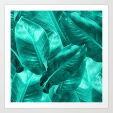 Banana leaf 2  Art Print