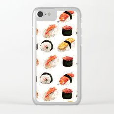 sushi 2 Clear iPhone Case