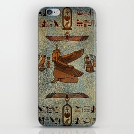 Hieroglyphs iPhone Skin