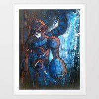 hunter x hunter Art Prints featuring Irregular Hunter X by Doom