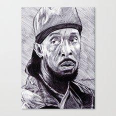 Omar Little Canvas Print