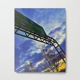 Route 77 to Cape Elizabeth, Maine Metal Print