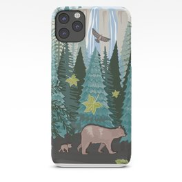 Little Bear Behind iPhone Case