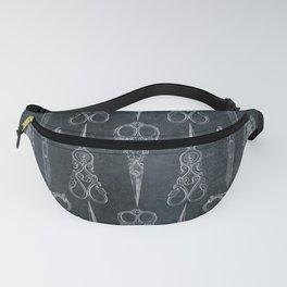 Gothic/Victorian Scissors Fanny Pack