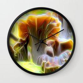 Pop Cornucopioides Wall Clock
