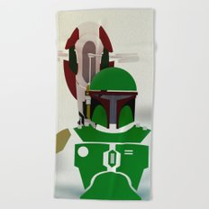 StarWars  Boba Fett  Beach Towel