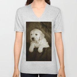 Labrador puppies Unisex V-Neck